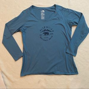 The north face Yosemite National park LS tee XL